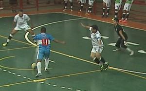 Campeonato Acreano de Futsal da 1ª Divisão no ginásio do Sesi (Foto: Reprodução/TV Acre)