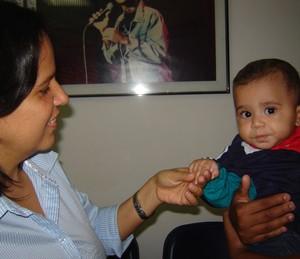 Adriana conheceu Mateus na Sociedade Viva Cazuza (Foto: Arquivo Pessoal)