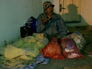 Morador de rua diz que usou vários tipos de drogas