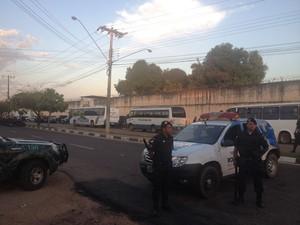 Cadeia Pública Masculina fica localizada na zona Sul de Boa Vista (Foto: Marcelo Marques/G1 RR)