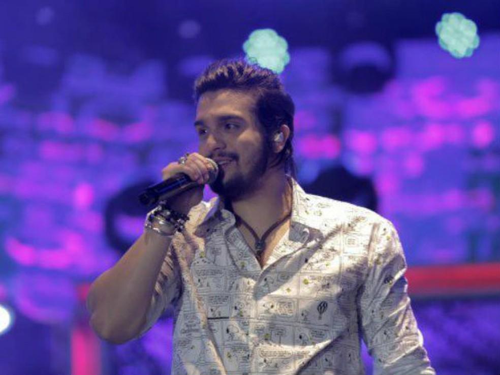 Luan Santana se apresenta na Festa Expô de Araçatuba no sábado (Foto: Divulgação)