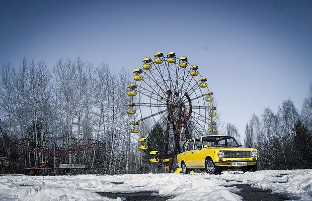 50 mil moradores foram embora três dias após a explosão em Chernobyl (Foto: Guilber Hidaka/Bufalos)