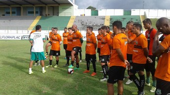 Carlos Alberto Dias, Paragominas (Foto: Eduardo Lima/GloboEsporte.com)