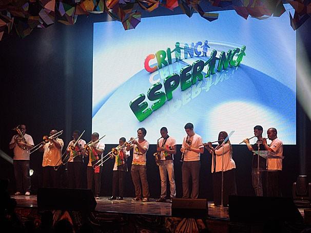 Apresentação do Afromix (Foto: Rede Globo/Estevam Avellar)