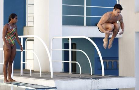 Em 'Babilônia', Thiago Martins será Diogo, atleta de saltos ornamentais Gustavo Stephan