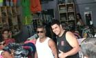Romário faz compras em Parintins (Marcos Dantas/G1 AM)