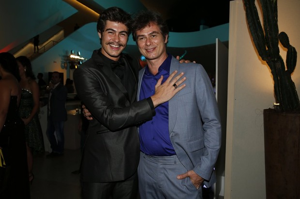 Rafael e João Vitti (Foto: Marcos Serra Lima/EGO)