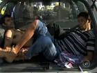 Imagens mostram perseguição a caminhão-tanque roubado em Jundiaí