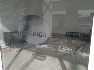 Lojas ainda não instaladas (Foto: Rosanne D'Agostino)