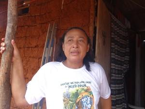 Raquel Xukuru-Kariri diz que luta indígena pela demarcação é antiga. (Foto: Carolina Sanches/G1)