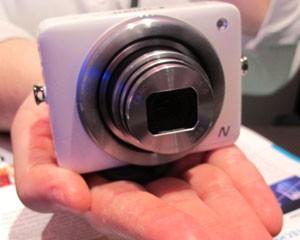 Câmera da Canon compartilha fotos de 12.1 MP em redes sociais (Foto: Daniela Braun/G1)