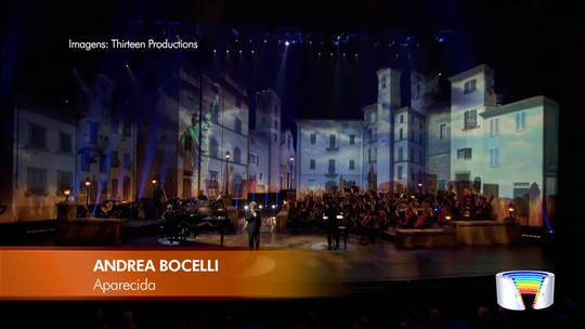 Show de Andrea Bocelli é principal atração do fim de semana no Vale