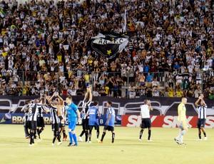 ABC x ASA, no Estádio Frasqueirão, em Natal (Foto: Augusto Gomes)