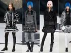 Com cenário gigantesco, Chanel apresenta coleção cheia de clássicos na Semana de Moda de Paris