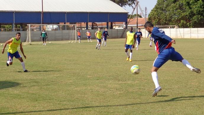 Treino Grêmio Prudente CT Everest (Foto: Rogério Mative / Divulgação, Grêmio Prudente)