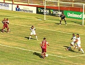 Desportiva Ferroviária x Aracruz (Foto: Reprodução/TV Gazeta)