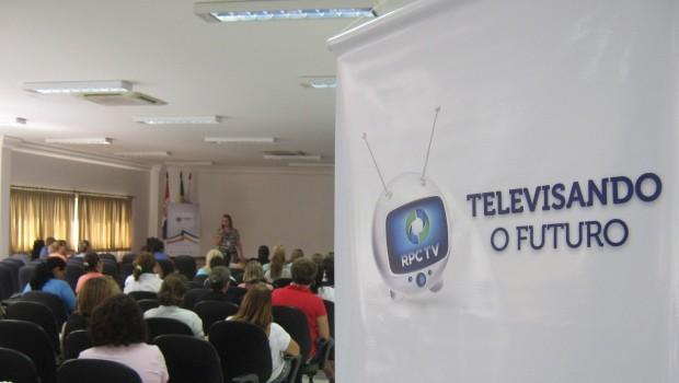 Televisando o Futuro em Telêmaco Borba (Foto: Divulgação/RPCTV)