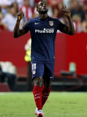 Jackson Martínez comemora gol Atlético de Madrid (Foto: REUTERS/Marcelo del Pozo)