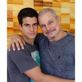 Enzo e Edson Celulari (Foto: Reprodução/Instagram)