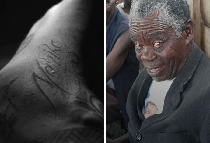Ibrahimovic tatuagem Nariko (Foto: Reprodução)