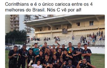 """BLOG: Após vaga no sub-20, Botafogo provoca o Fluminense: """"Nós C vê por aí"""""""