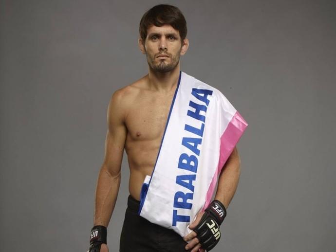 Rodrigo Damm é um dos 4 lutadores capixabas no UFC (Foto: Divulgação/Arquivo Pessoal)