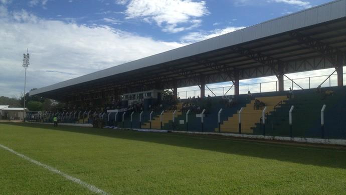 Estádio General Sampaio, em Porto Nacional (Foto: Vilma Nascimento/GloboEsporte.com)