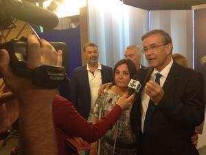 Debate entre candidatos a prefeito de Sorocaba na TV TEM - 2º turno (Foto: Ana Carolina Levorato/G1)