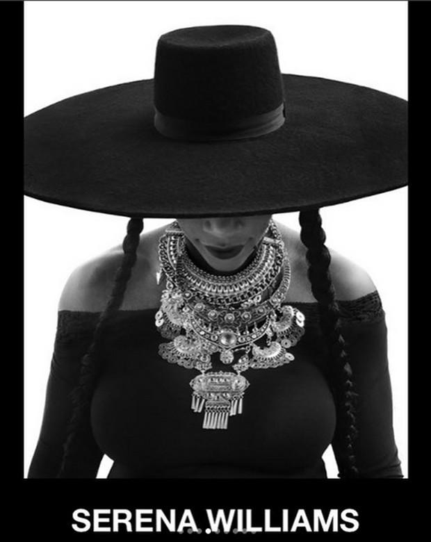 Serena Williams homenageia Beyoncé (Foto: Reprodução / Instagram)