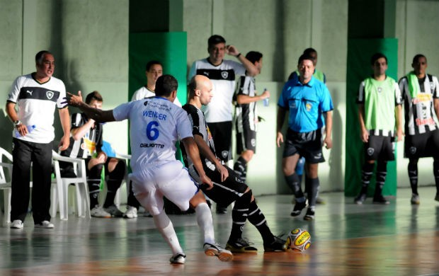 Botafogo na Liga Sudeste de Futsal (Foto: Luciano Bergamaschi/CBFS)