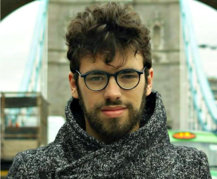 Diretor do curta 'Na Casa Delas', Gabriel Pontes, é novo nome na indústria audiovisual gaúcha (Foto: Arquivo Pessoal)