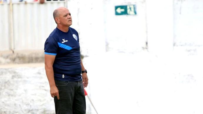Ronaldo Bagé, técnico do CSA (Foto: Ailton Cruz/ Gazeta de Alagoas)