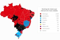 MAPA DAS CURTIDAS: veja times em Roraima (GloboEsporte.com)