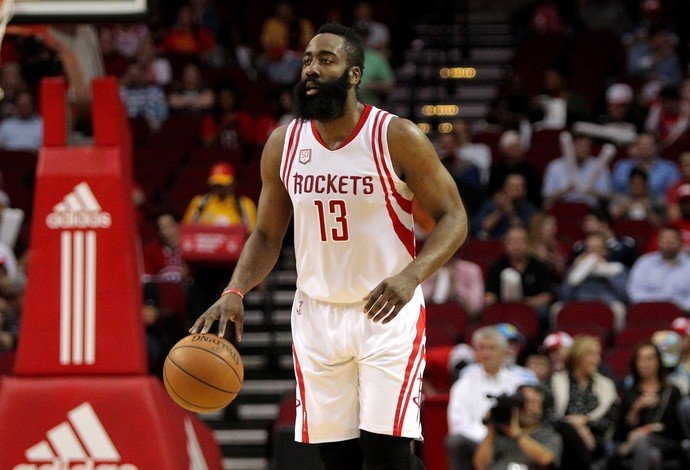 Houston Rockets x Phoenix Suns James Harden NBA (Foto: Reuters)