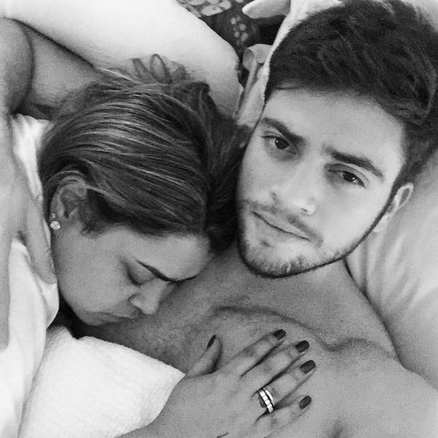 Preta Gil e o noivo, Rodrigo Godoy (Foto: Instagram/ Reprodução)