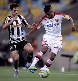 Leo Moura Flamengo Taça Guanabara (Foto: Agência O Globo)