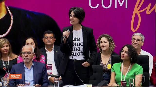 PCdoB oficializa a candidatura de Manuela D'Ávila à presidência da República