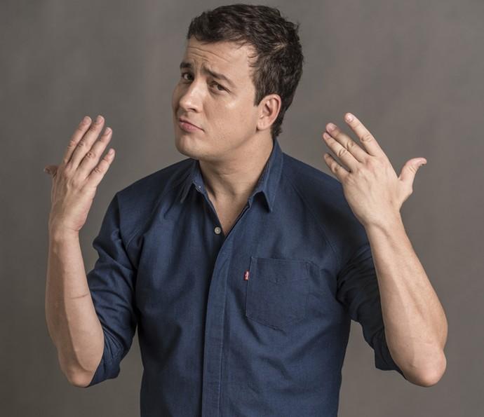 Rafael Cortez conta que suas conquistas vieram na cara de pau (Foto: Estavem Avellar / TV Globo)
