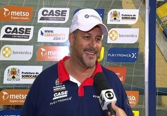 Rinaldo Rodrigues, técnico da LSB (Foto: Reprodução / TV TEM)