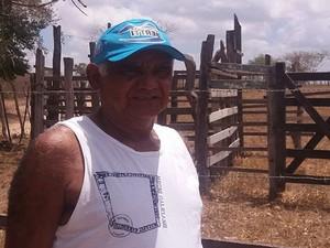 José Carlos Morais, criador de gado (Foto: Anderson Barbosa)