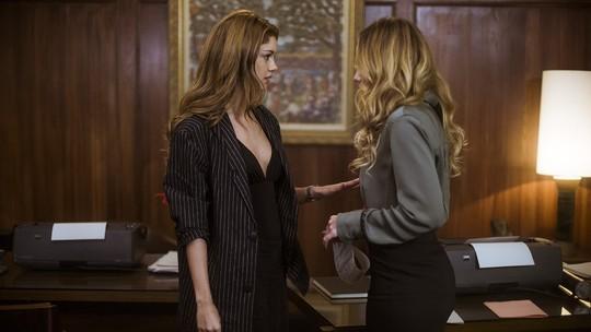 Alice diz a Ive que Vitor ficará livre pra ela
