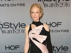Veja o estilo de Nicole Kidman e mais famosas no 'InStyle Awards'