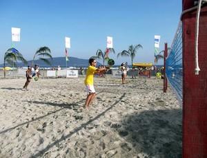 Beach Tennis Praia Grande (Foto: Divulgação / Prefeitura de Praia Grande)