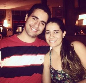 Dayane e Renan se conheceram por causa de 'World of Warcraft' (Foto: Arquivo Pessoal)