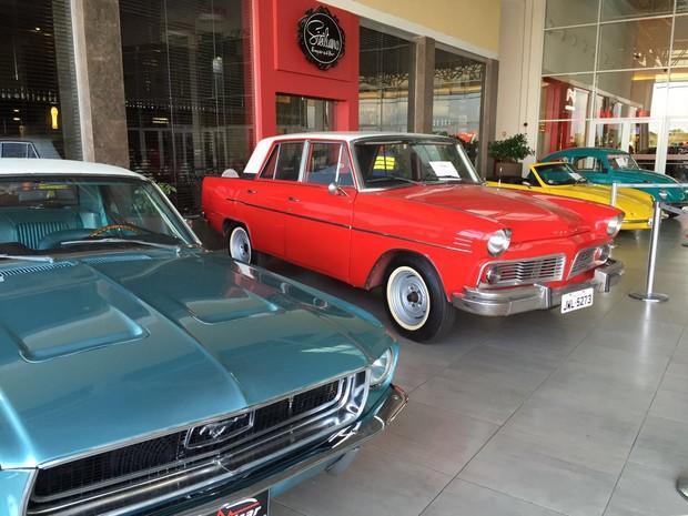 cb8161949 Encontro ocorre no último dia da exposição de carros antigos no Roraima  Garden Shopping (Foto