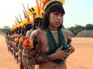 Entre os temas, está a luta indigena por direitos sociais (Foto: Dyepeson Martins/G1)