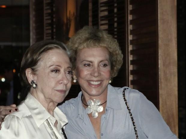 Fernanda Montenegro e Arlete Salles em festa no Rio (Foto: Marcos Serra Lima/ EGO)