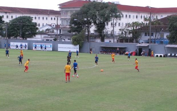 Santos e Jabaquara, CT Rei Pelé (Foto: Fernando Prandi)