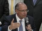 PSDB lança pré-candidatura de Alckmin à presidência da República