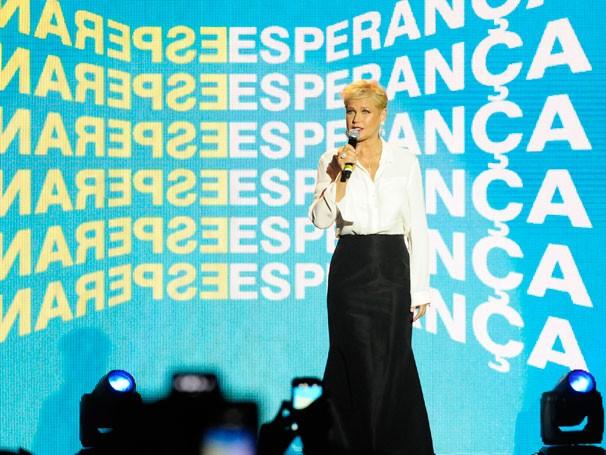 Xuxa no Show da Esperança (Foto: Globo/Estevam Avelar)